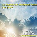 <b>Luc</b> <b>24</b>:34 - Verset Biblique illustré