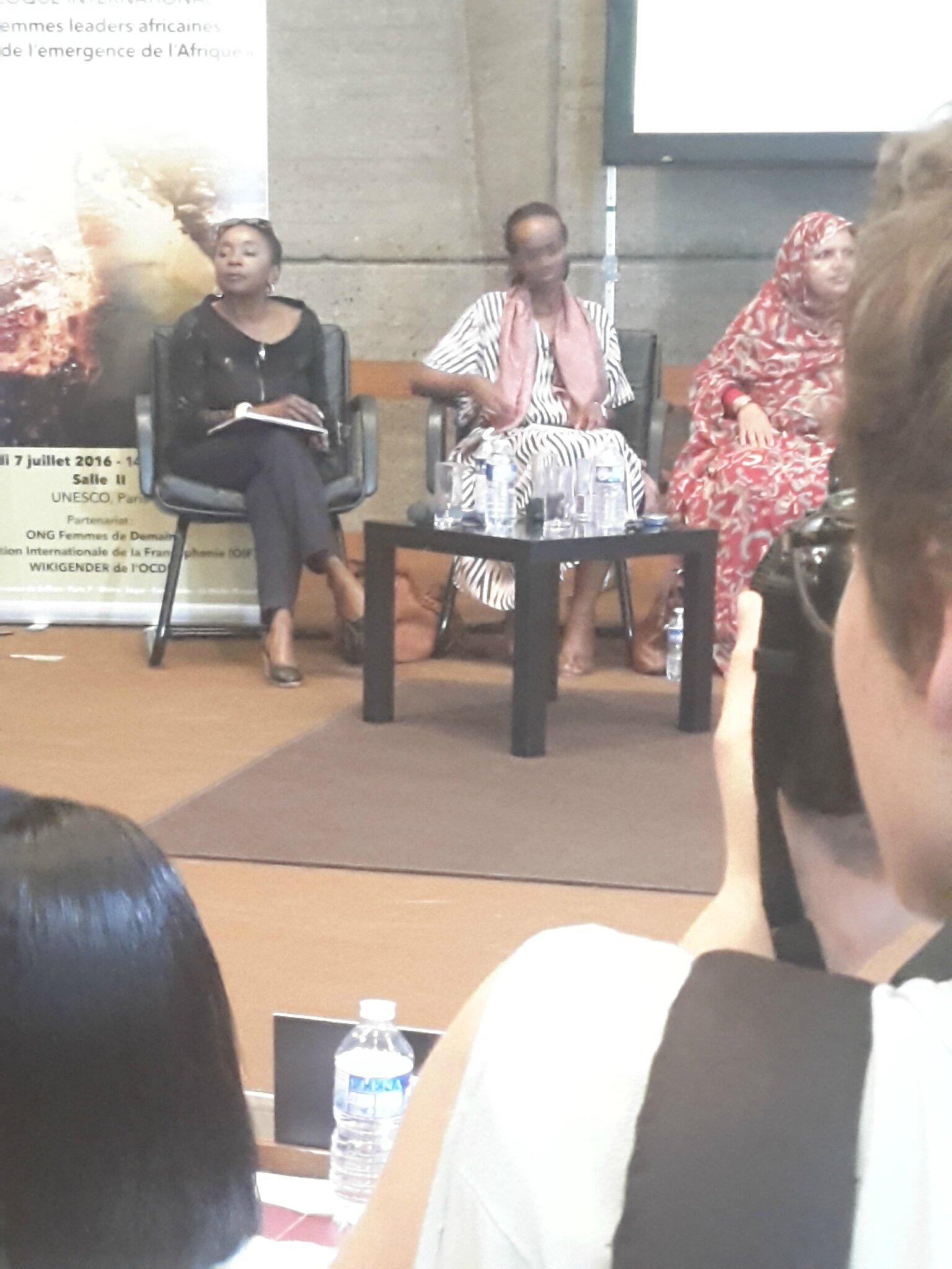 Marie Roger BILOA Journaliste et Présidente du Groupe Africa Interational et du Club Millenium.