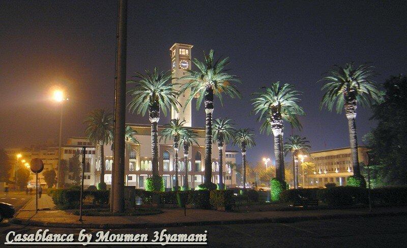 Place Mohammed V Centre Casablanca