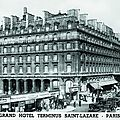 Hôtel terminus saint lazare