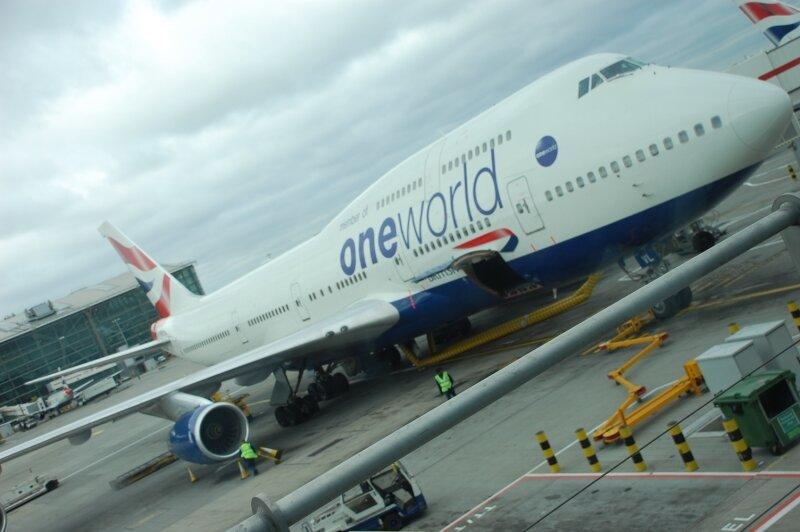 Notre avion pour les USA