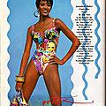 1992, Naomi <b>Campbell</b> pour GOTTEX