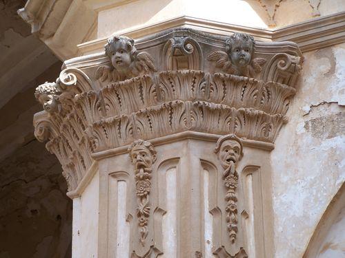 Monastère de Piedra-détail chapiteau