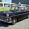 Opel rekord type P2 berline 4 portes (1960-1963)(RegioMotoClassica 2010