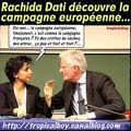 Rachida Dati se plante grave à un meeting pour les européennes