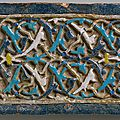 Tile with arabesque decoration, <b>early</b> <b>15th</b> <b>century</b>, Ottoman Anatolia (Bursa)
