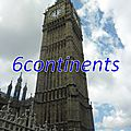 Mon top 10 des tours: N°3: <b>Big</b> <b>Ben</b> (Londres)