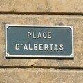 0593 - Plaque de la Place d'Albertas