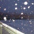 neige sur la station Warschauer Strasse