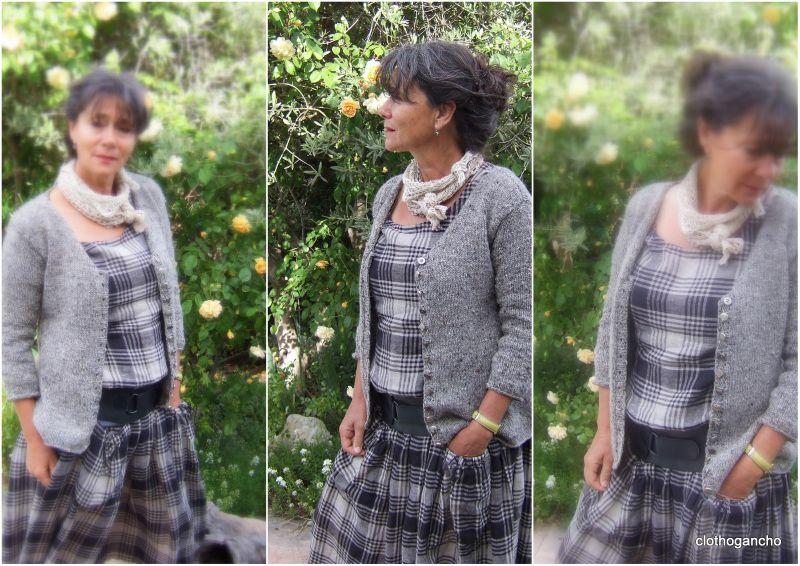 Donegal aran tweed