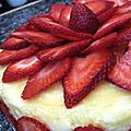 Cheesecake à la fraise...