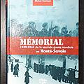 Mémorial de la Seconde Guerre Mondiale en <b>Haute</b>-<b>Savoie</b> 1939-1945 - Michel Germain