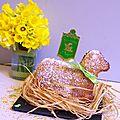 Bataille food #22 : Osterlamala ou agneau pascal