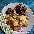 Cuisse de canard confite et ses pommes de terre