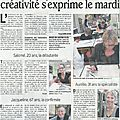 Article du dauphiné libéré le 9 juin 2012