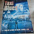 Affiche de film - taxi blues