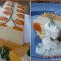 Terrine bicolore carotte-choufleur