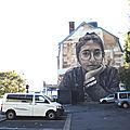 BAYONNE, à la recherche des fresques du festival Street Art <b>Point</b> de <b>Vue</b>, périple 1 (64)