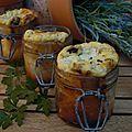 Gâteau à la ricotta et olives noires