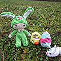 Test <b>crochet</b> - Felton in Bunny Costume...