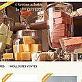 Création site E-Commerce L'eau de Valbonne