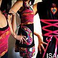 Bohème Folk : robe dentelle