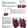La jupe bohème avec 2 chemises