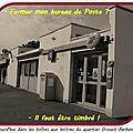 Quartier Drouot - <b>Fermeture</b> de la <b>poste</b> carte postale du PCF...
