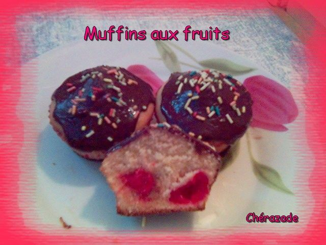 Muffins aux fruits 2