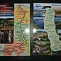 Carte brodée défi 9 et courrier