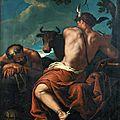 <b>École</b> <b>vénitienne</b>, vers 1700, entourage de Sebastiano Ricci, Mercure et Argus