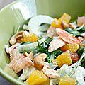 Salade d'agrumes au crabe {entrée frâiche pour #noel2016 ou le réveillon}