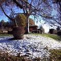 PUNTOUS de <b>LAGUIAN</b>, il a neigé ce début décembre.