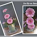 Composition florale d'avril