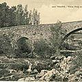 Pont Vieux sur la Nartuby