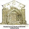 LA LÉGENDE DE SAINT LIENNE, disciple de saint Hilaire (Rocca Super Oyonem)