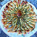La tarte soleil au pesto de Camille