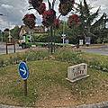 Rond-point à Ezanville