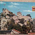 Lourdes - chateau fort datée 1972