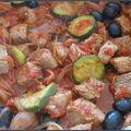 Porc (ou autre) mijoté à la provençale