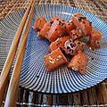 Saumon mariné au gingembre