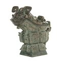 Chinese bronze <b>vessel</b> sells for $722,500 at Leslie Hindman Auctioneers