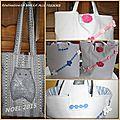 Pochette cadeau ou sac cabas pour petites filles sages ......