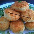 Croquette de pommes de terre, ciboulette