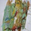 Les oeuvres exposées au restaurant le laurier le 10/01/2008
