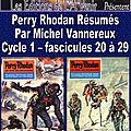 Perry rhodan résumés - cycle 1 - 20 à 29