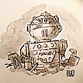 <b>Inktober</b> (Jours 9 &10)