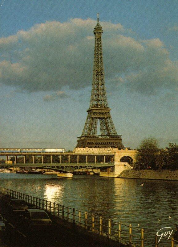 La Seine et la Tour effel 1887-1889