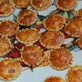 Mini-quiche au jambon