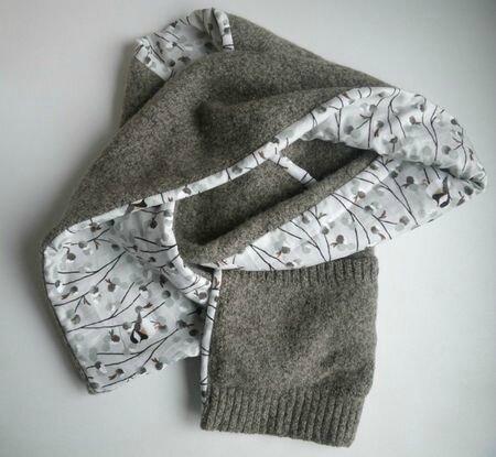 écharpe à poches, 2012